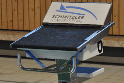 Schwimmsportgeräte: mobiles Startsprungsystem Schmitzler