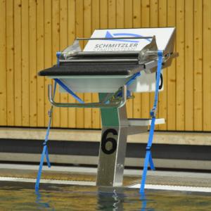 Schwimmsport Rückenstarthilfe