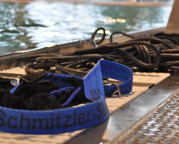 Schwimmtraining Produkte: Trainingsgummi für Leistungsschwimmer