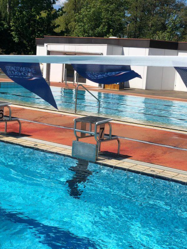 Pennant Flag cords for backstroke